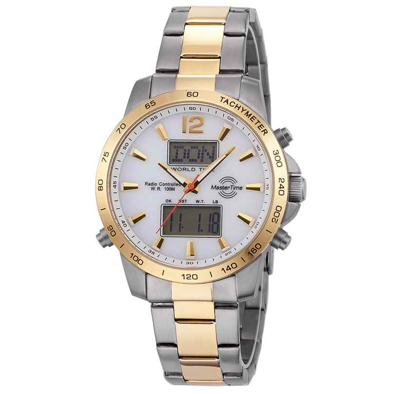 Master Time MTGS-10649-30M Herren-Funkchronograph World Timer 4260503032847