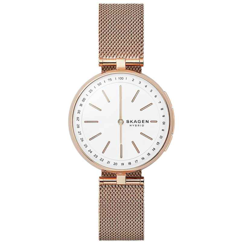 Skagen Connected SKT1404 Hybrid Smartwatch für Damen Signatur T-Bar 4053858941717