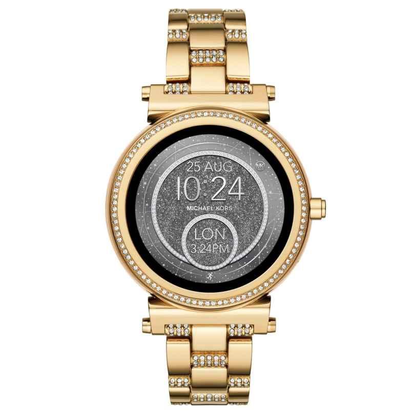 Michael Kors Access MKT5023 Damen-Smartwatch Sofie Pavé Goldfarben 4053858919181