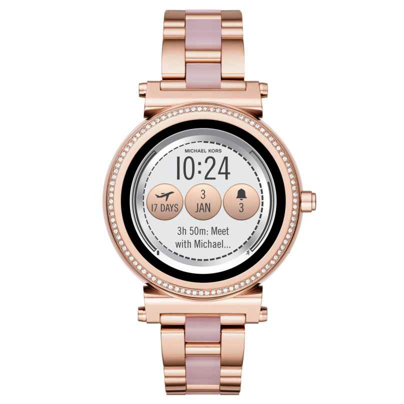 Michael Kors Access MKT5041 Damen-Smartwatch Sofie Roségold 4053858994737