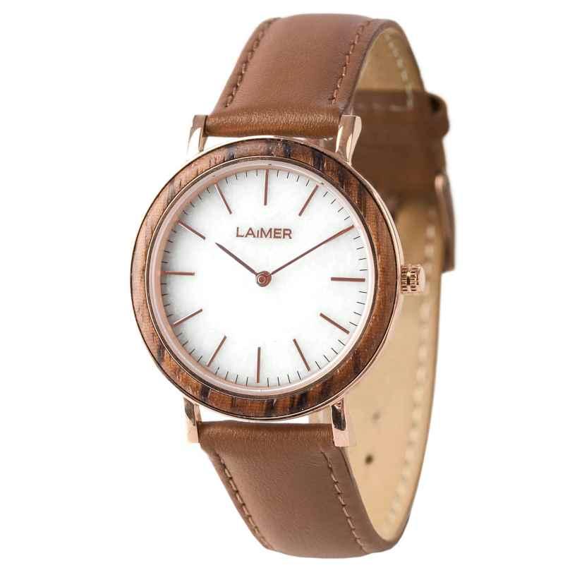 Laimer 0074 Damen Holz-Armbanduhr Laila 4260498090594