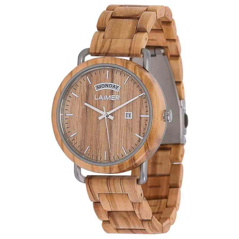 Laimer 0111 Holz-Herrenuhr Filippo 4260498091362