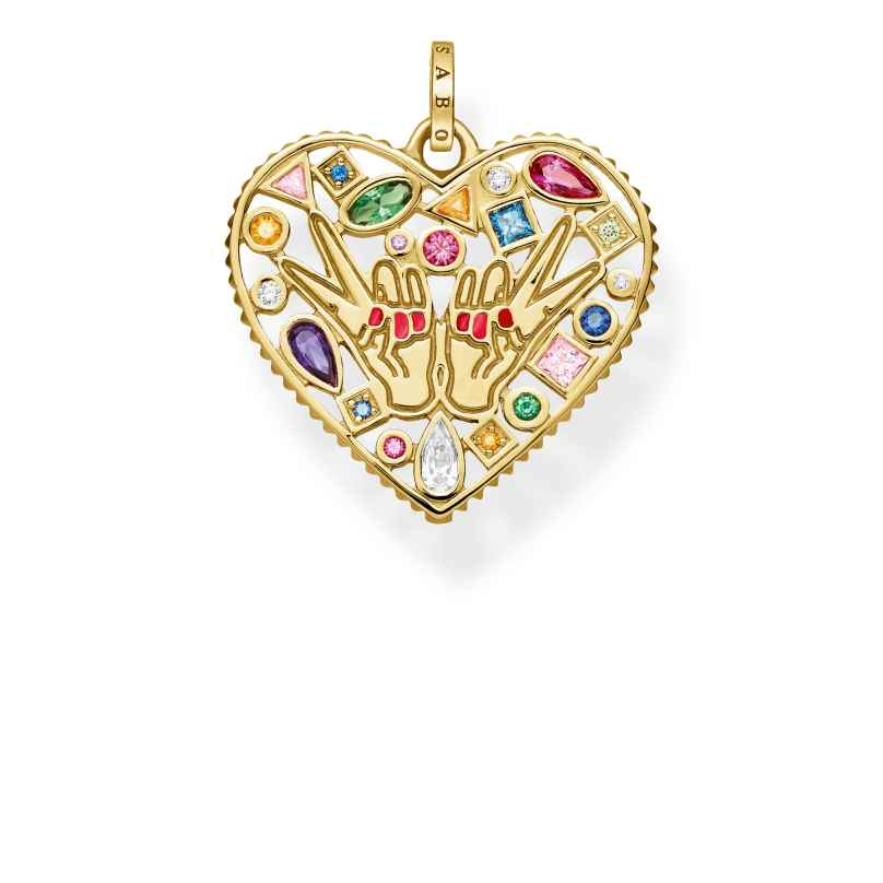 Thomas Sabo PE842-996-7 Pendant Love & Peace 4051245432916
