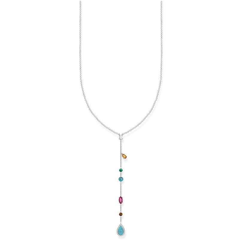 Thomas Sabo KE1758-476-7 Damen-Halskette Riviera Colours 4051245364996