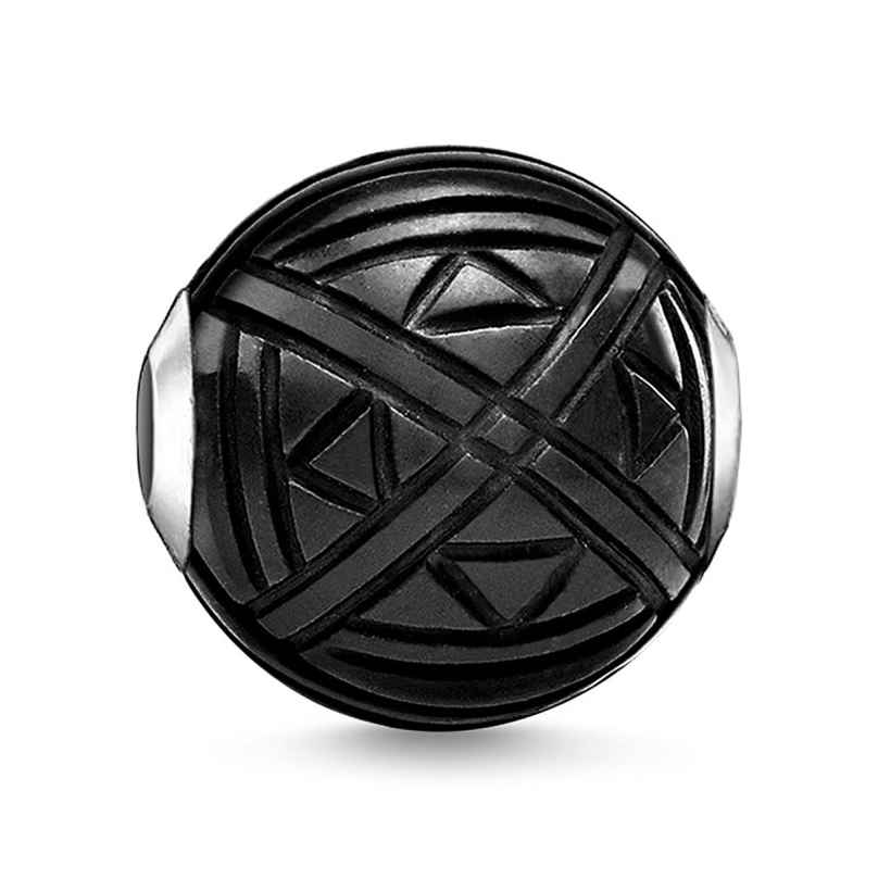 Thomas Sabo K0300-024-11 Bead Ethno Black 4051245394825