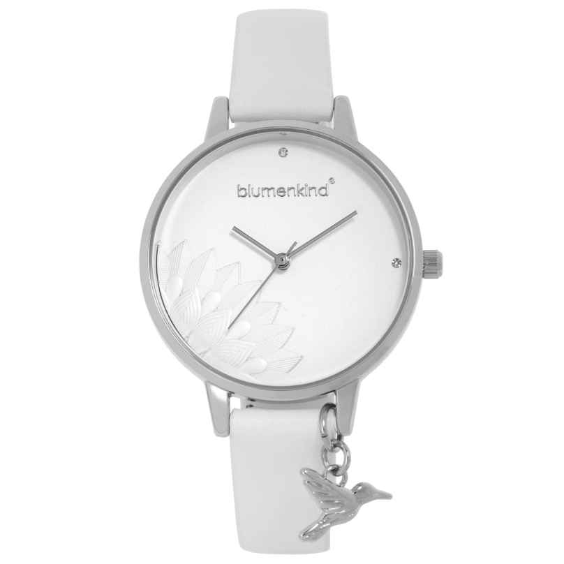 Blumenkind 13121989SWHPWH Damenarmbanduhr Pennsylvania Silber/Weiß 9120044243773