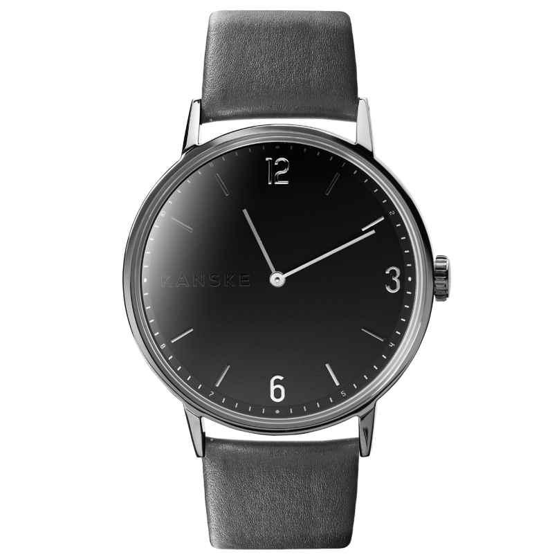 Kanske Denmark 311 Armbanduhr Sincere Silberfarben/Grau 5714094000116