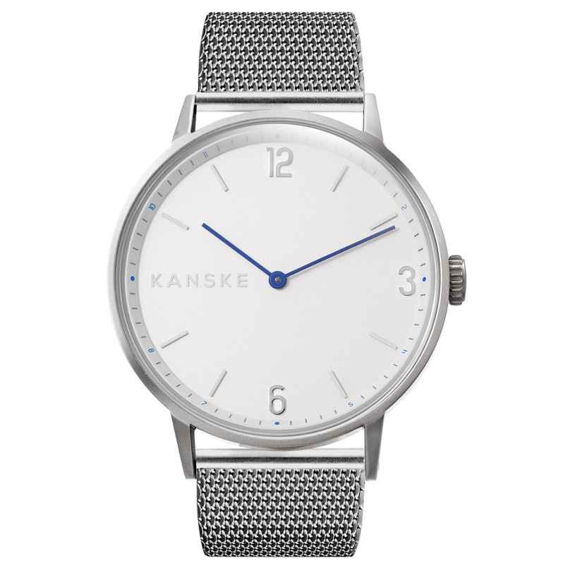 Kanske Denmark 331 Armbanduhr Sincere Matt Silberfarben 5714094000192