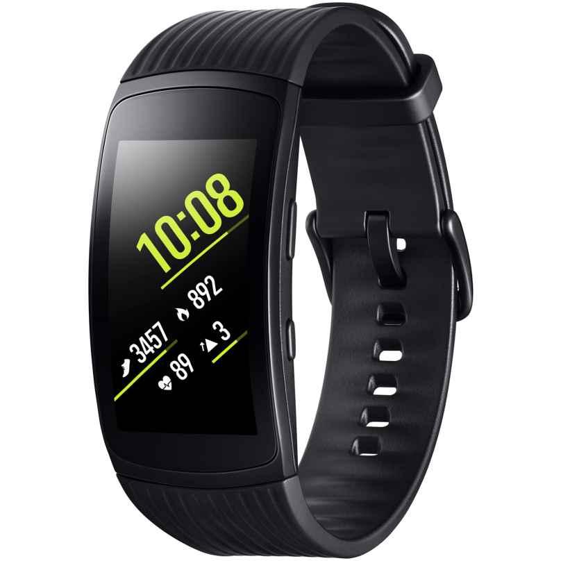 Samsung SM-R365 Fitnesstracker Gear Fit2 Pro Größe L Schwarz 8806088850993