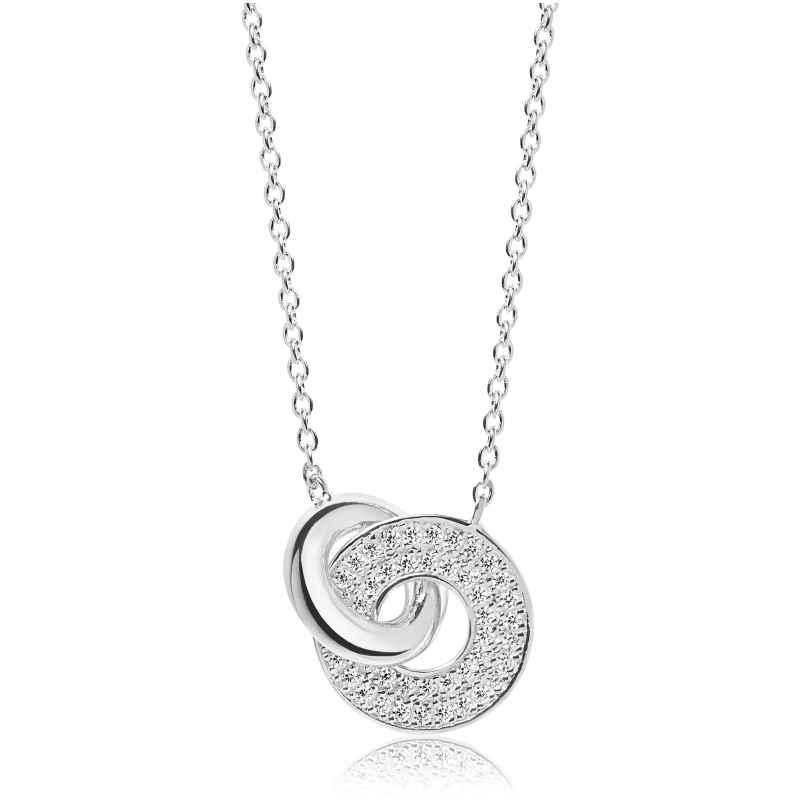 Sif Jakobs Jewellery SJ-C1052-CZ Silber Damen-Halskette Valiano Due 5710698057693