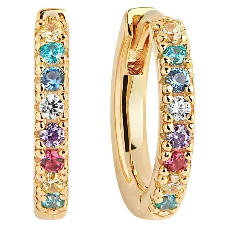Sif Jakobs Jewellery SJ-E2859-XCZ(YG) Ohrringe Creolen Ellera 5710698061492