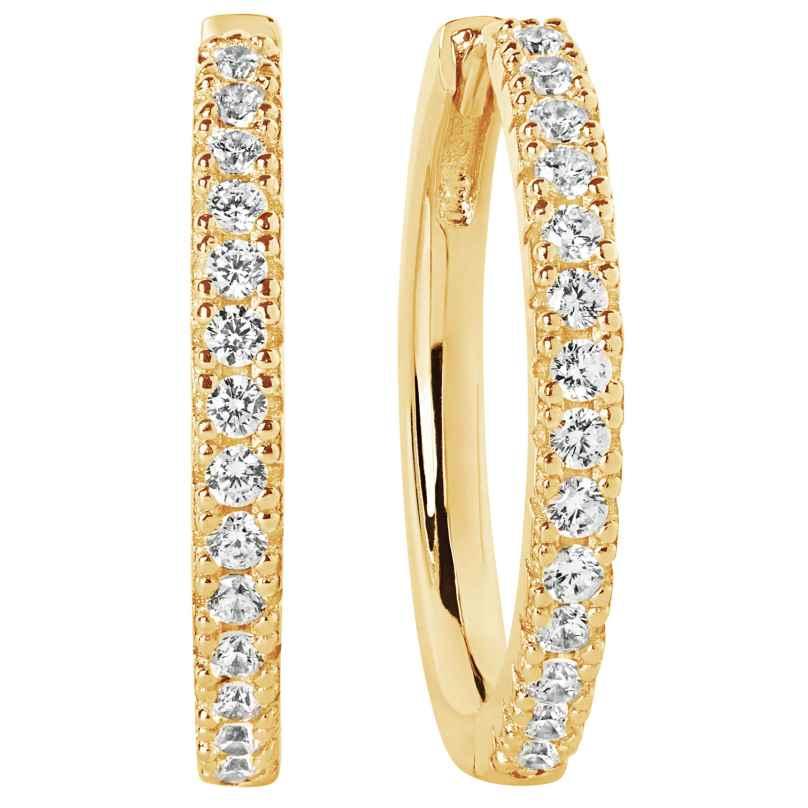 Sif Jakobs Jewellery SJ-E2869-CZ(YG) Ohrringe Creolen Ellera Grande 5710698061515