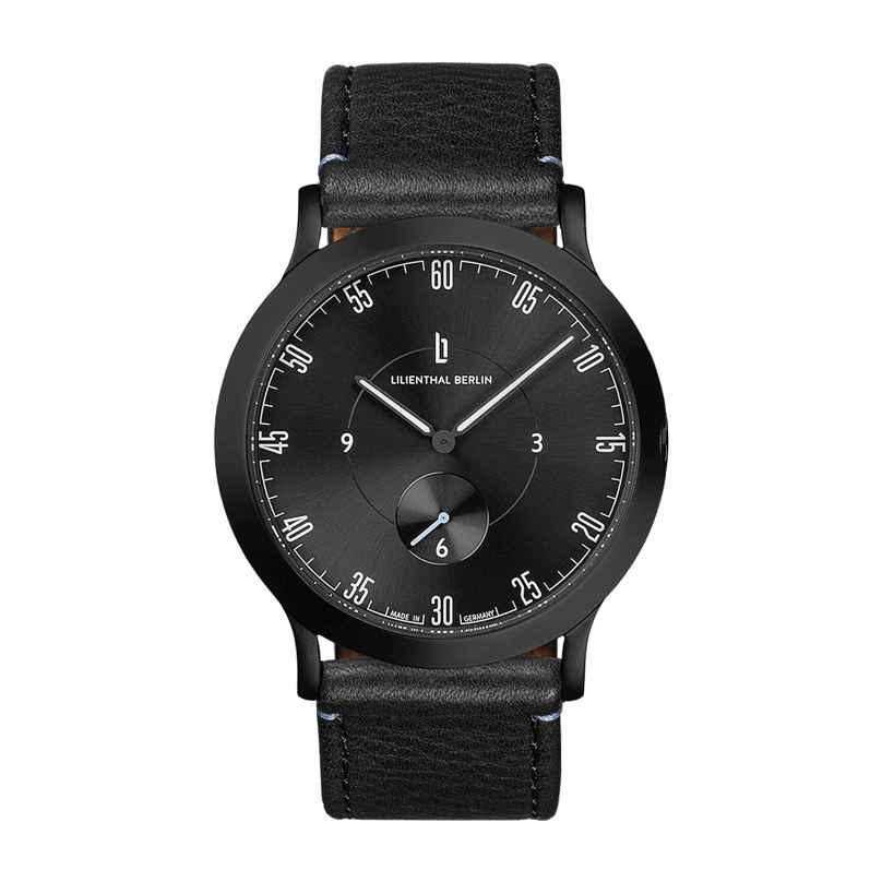 Lilienthal Berlin L01-207-B004C Armbanduhr L1 Klein All Black 4260466366157