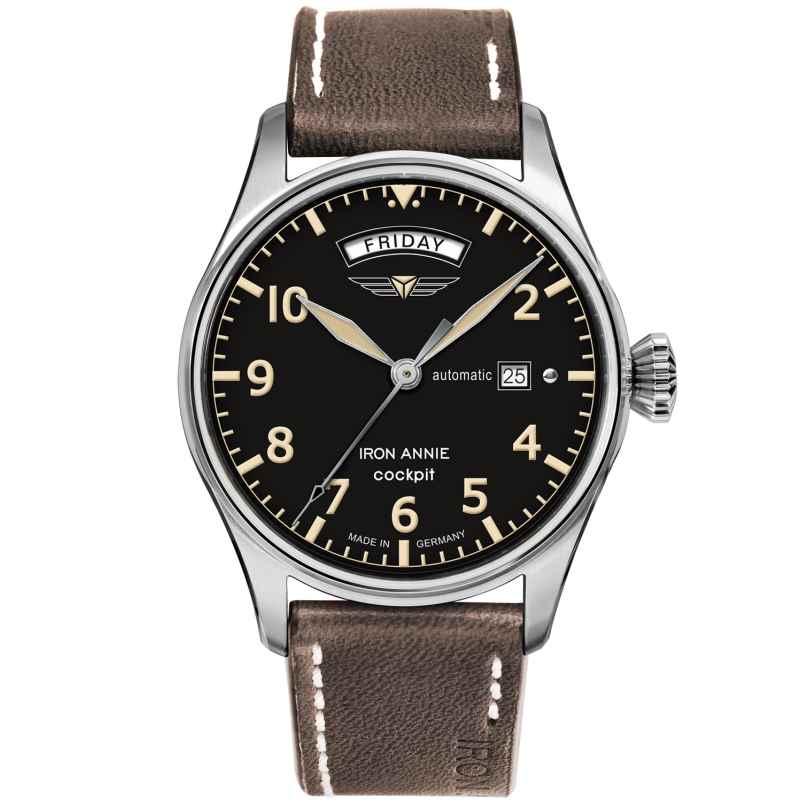 Iron Annie 5164-2 Herren-Automatikuhr Cockpit 4041338516425