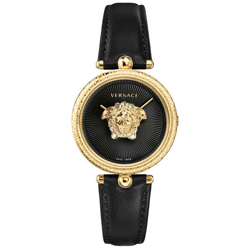 Versace VECQ00118 Damen-Armbanduhr Palazzo Empire Schwarz 7630030531804
