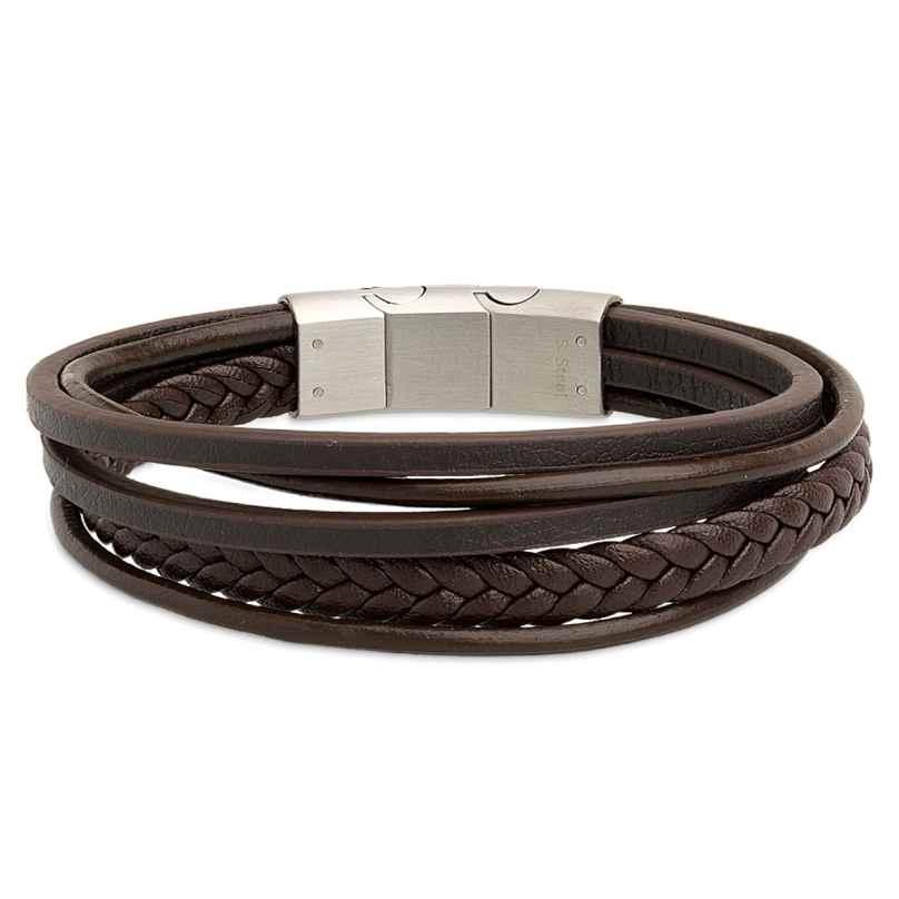 Xenox X2597 Herrenarmband Leather & More 9010050013173