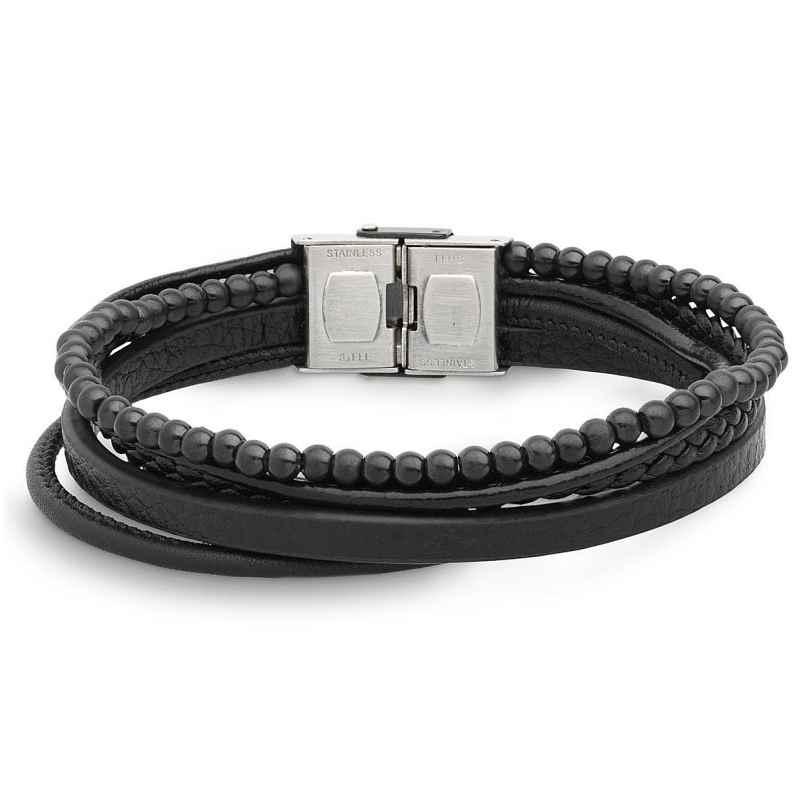Xenox X4520B Herrenarmband Leather & More 9010050052462