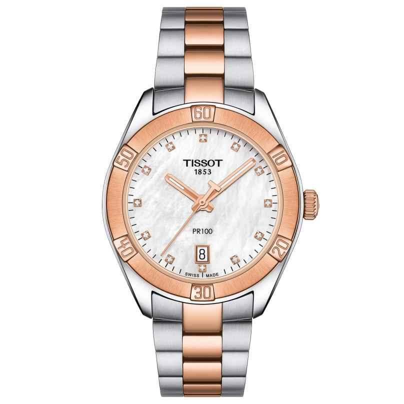 Tissot T101.910.22.116.00 Women's Wristwatch PR 100 Sport Chic Lady 7611608284810