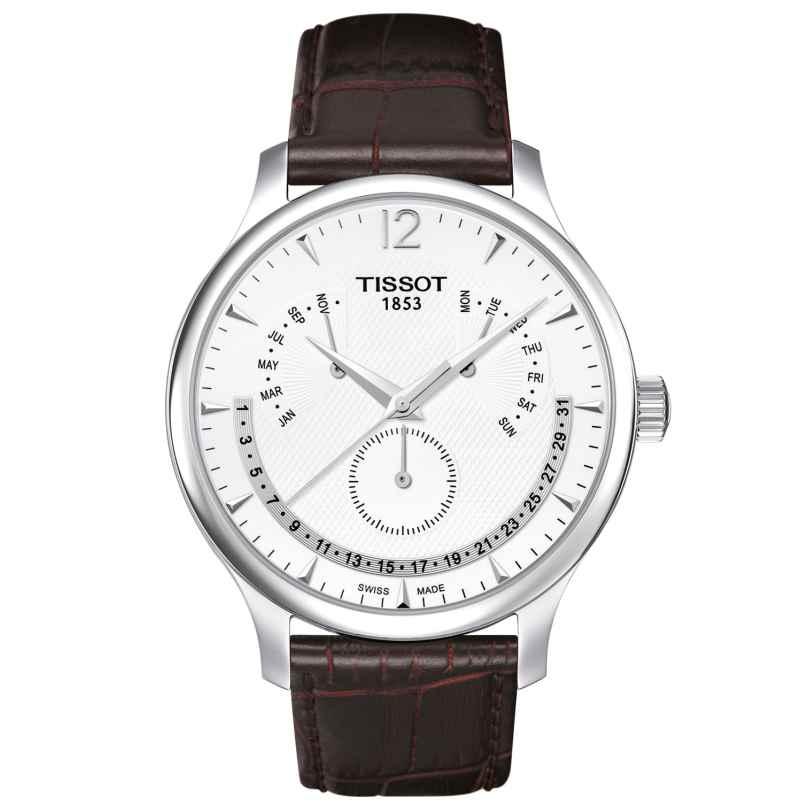 Tissot T063.637.16.037.00 Herrenuhr Tradition Perpetual Calendar 7611608253632