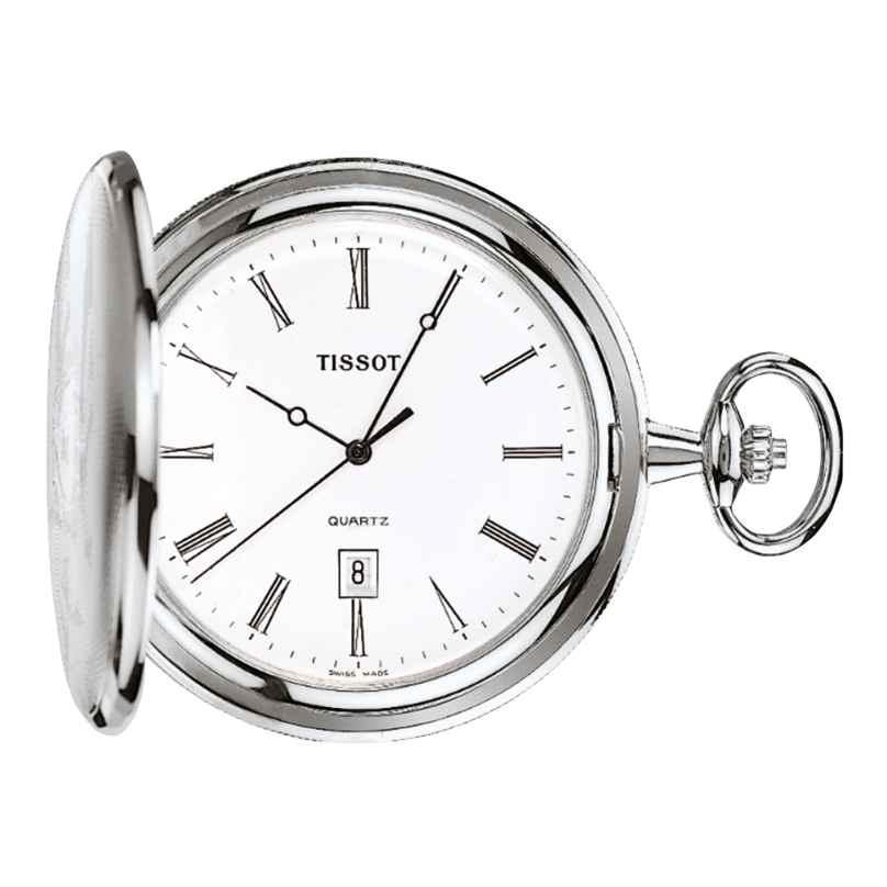 Tissot T83.6.508.13 Taschenuhr Savonette Quarz 7611608016787