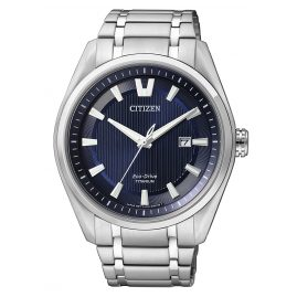 Citizen AW1240-57L Eco-Drive Super Titanium Herrenuhr