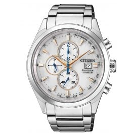 Citizen CA0650-82B Mens Watch Chronograph Eco Drive Super Titanium