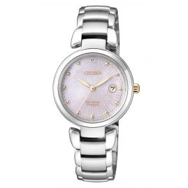 Citizen EW2506-81Y Eco-Drive Titanium Ladies Watch