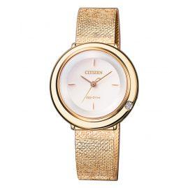 Citizen EM0643-84X Eco-Drive Ladies' Wristwatch Elegance with Diamond
