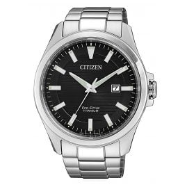 Citizen BM7470-84E Men´s Wristwatch Eco-Drive Titanium