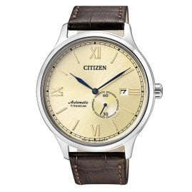 Citizen NJ0090-13P Automatik-Herrenuhr Titan