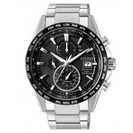 Citizen AT8154-82E Eco-Drive Chronograph Herren-Funkuhr Titan