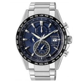 Citizen AT8154-82L Eco-Drive Radio-Controlled Watch Mens Chronograph Titanium