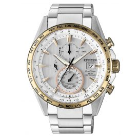 Citizen AT8156-87A Eco-Drive Funk Herrenuhr Chronograph Titan