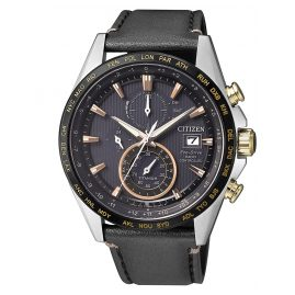 Citizen AT8158-14H Eco-Drive Funk Herren-Chronograph Titan