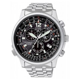 Citizen AS4020-52E Pilot Funkuhr Eco-Drive