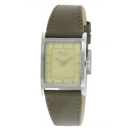 Boccia 3294-02 Titan-Damenarmbanduhr mit Lederband