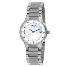 Boccia 3301-01 Titanium Damen-Armbanduhr