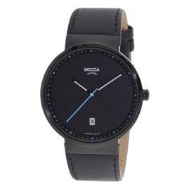 Boccia 3615-04 Titan-Armbanduhr mit Saphirglas