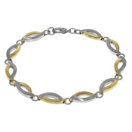 Boccia 03001-02 Two Tone Titanium Ladies Bracelet