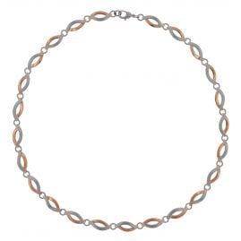 Boccia 0876-03 Damen-Halskette Titan