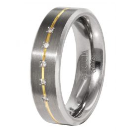 Boccia 0101-19 Titanium Ladies Ring