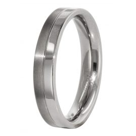 Boccia 0129-01 Titanium Mens Ring