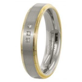 Boccia 0134-04 Ladies' Ring Titanium