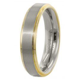 Boccia 0134-05 Men's Ring Titanium