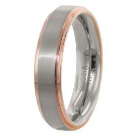 Boccia 0134-03 Men's Ring Titanium