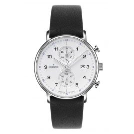 Junghans 041/4775-Schwarz Men's Watch Chronoscope Form C