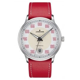 Junghans 027/4716.00 Damenuhr Meister Driver Automatic Rot