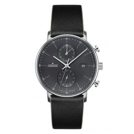 Junghans 041/4876.00 Herrenuhr Chronoscope Form C