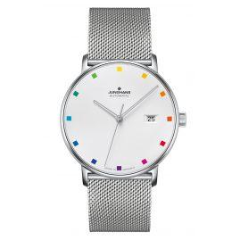 Junghans 027/4937.44 Automatic Watch Form A 100 Jahre Bauhaus