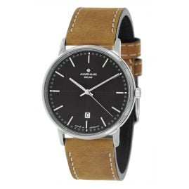 Junghans 014/406-Nevada Milano Solar Men's Watch with 2 Leather Straps